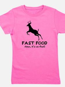 fast food Girl's Tee