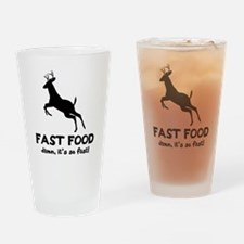 fast food Drinking Glass