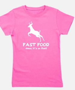 fast food wh Girl's Tee