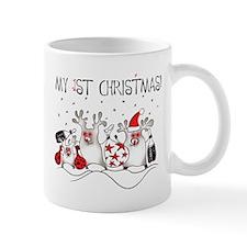My First Christmas 1 Mugs
