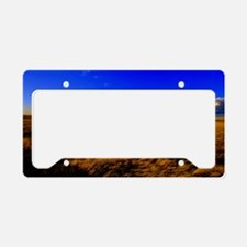 The Prairies Edge License Plate Holder