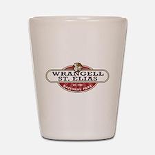 Wrangell St. Elias National Park Shot Glass