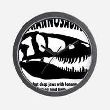 tyrannosaurs Wall Clock