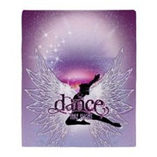 Dance Angel by DanceShirts.com Throw Blanket