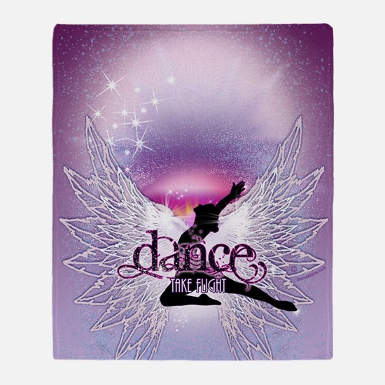 Dance Angel by DanceShirts.com Throw Blanket