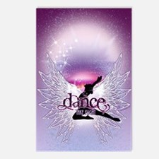 Dance Angel by DanceShirt Postcards (Package of 8)