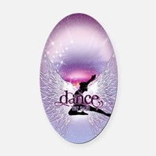 Dance Angel by DanceShirts.com Oval Car Magnet
