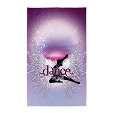 Dance Angel by DanceShirts.com 3'x5' Area Rug