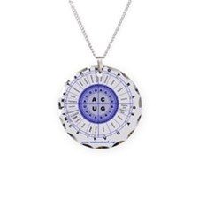 Genetic code (blue) Necklace