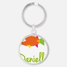 Danielle-the-big-fish Round Keychain