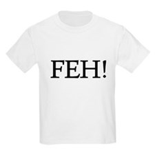 FEH T-SHIRT JEWISH YITTISH FO Kids T-Shirt