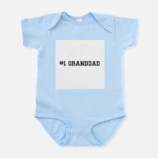 #1 Granddad Body Suit