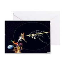Socerer Butterfly Lady Mousepad Greeting Card