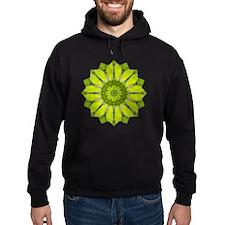 Green Flower Heart Chakra Mandala Yo Hoodie