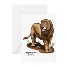 American Lion Greeting Cards (Pk of 10)