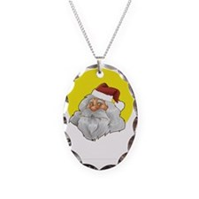 christmas01-2 Necklace Oval Charm
