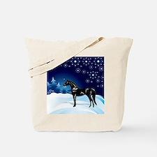 Snow_horse3 Tote Bag
