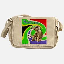 Soccer Elephant Logo Messenger Bag