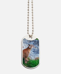 cougoval2 Dog Tags