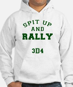 Spit Up and Rally - Med Green 3d Hoodie