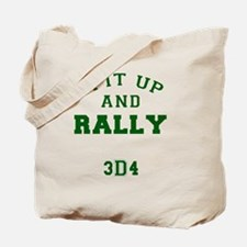 Spit Up and Rally - Med Green 3d4 Tote Bag
