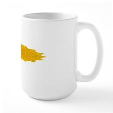 Gold Yellow Yoga Om Mandala Shirt Mug