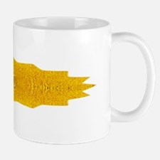Gold Yellow Yoga Om Mandala Shirt Mug