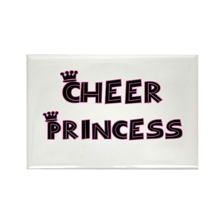 Cheer Princess Rectangle Magnet (10 pack)