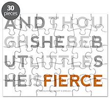 She is Fierce - Block Puzzle