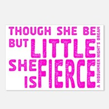 She is Fierce - Stamped P Postcards (Package of 8)