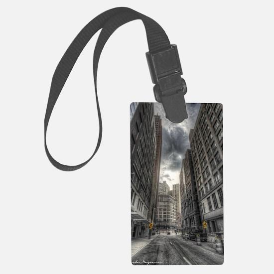 38.5x24.5 Wall Decal - DetroitCi Luggage Tag