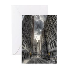 38.5x24.5 Wall Decal - DetroitCity Greeting Card
