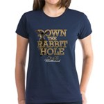 Down The Rabbit Hole Women's Dark T-Shirt