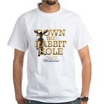 Down The Rabbit Hole White T-Shirt
