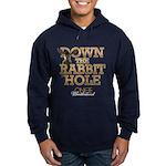 Down The Rabbit Hole Hoodie (dark)