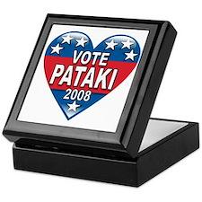 Vote George Pataki 2008 Political Keepsake Box