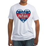 Vote George Pataki 2008 Political Fitted T-Shirt