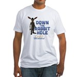 Down The Rabbit Hole Fitted T-Shirt