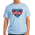 Vote George Pataki 2008 Political Light T-Shirt