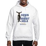 Down The Rabbit Hole Hooded Sweatshirt