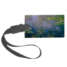 Water Lilies by Monet Luggage Tag