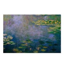 Water Lilies by Monet Postcards (Package of 8)