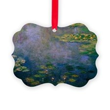 Water Lilies by Monet Picture Ornament