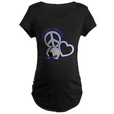 silverblue, Peace, Love, Fo T-Shirt