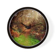 Autumn Path Wall Clock