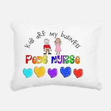 Peds Nurse 2012 Kids are Rectangular Canvas Pillow