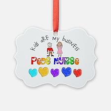 Peds Nurse 2012 Kids are business Ornament