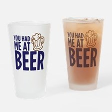 HADMEBEER copy Drinking Glass