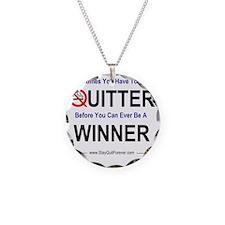quitter_winner Necklace