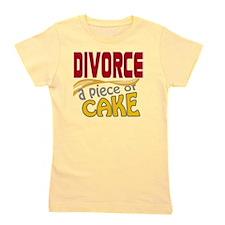 divorce-pieceofcake Girl's Tee